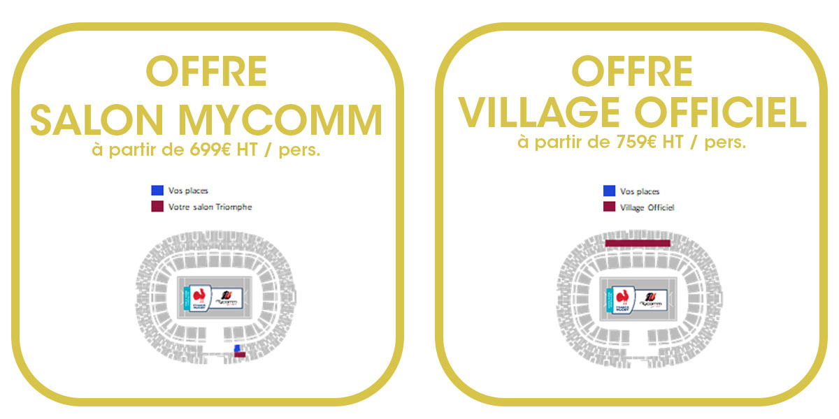 Billet France vs Irlande Tournoi des Six Nations 2022 - Hospitalités Officielles Stade de France