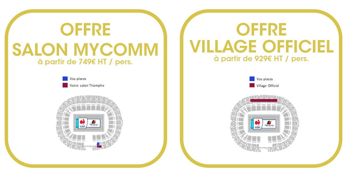 Billet Hospitalités officielles France vs Nouvelle Zélande - Test Match 2021