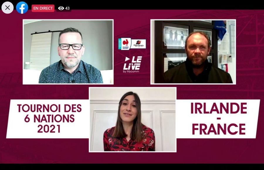 Tournoi des 6 Nations 2021 : émission en live sur Facebook