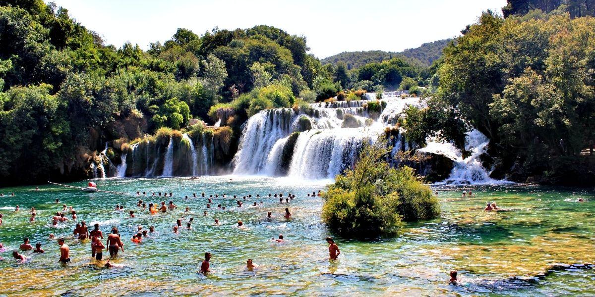 Voyage en Croatie, parc Krka