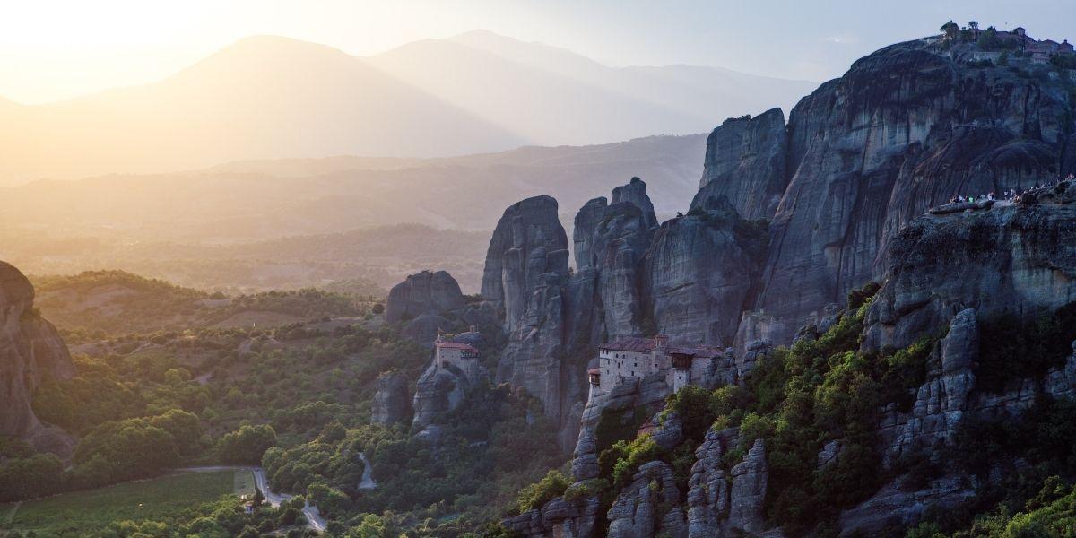 Voyage en Grèce, Les Météores