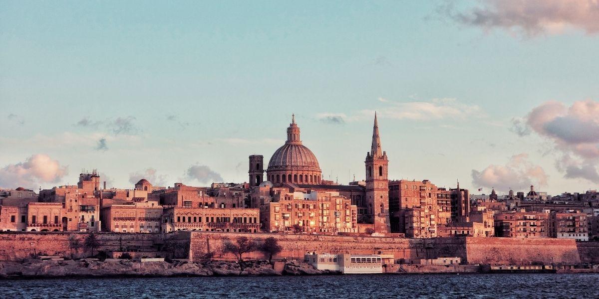 Voyage à Malte, La Valette