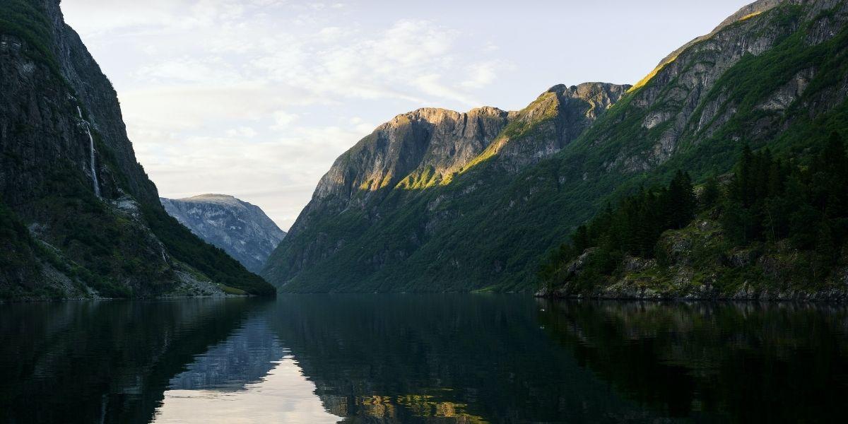 Voyage en Norvège, fjord